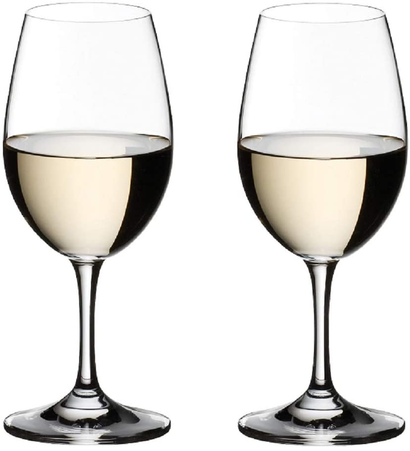 Bordeaux glass & white wine glass (sherry glass, champagne glass for certain smell)