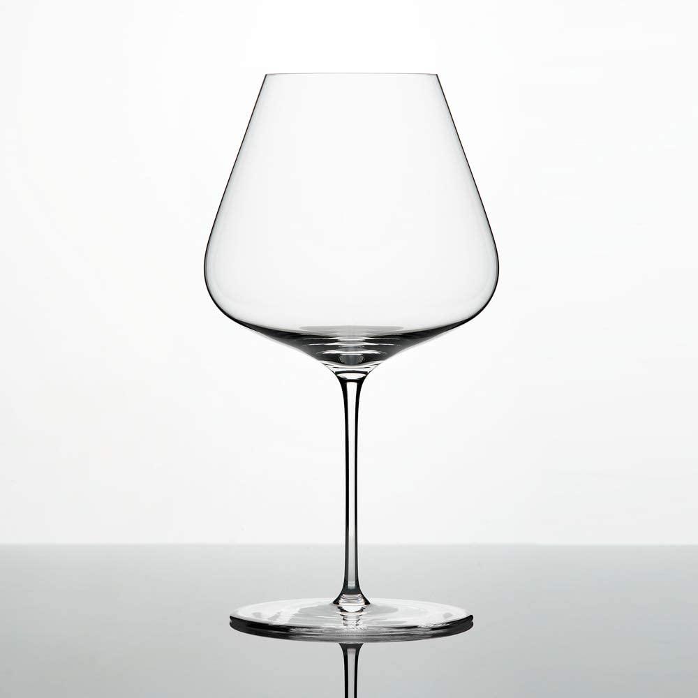 Burgundy glass (Sangiovese glass, certain white wine glasses for specific varieties)