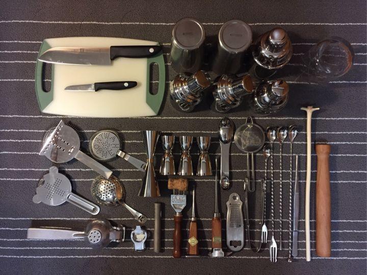 Bartenders tools